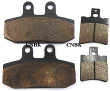 F+R Brake Pads Set fit HONDA 125 NSR NSR125 1998 1999 2000 2001 2002 1991 - 2003 Front Rear(China)