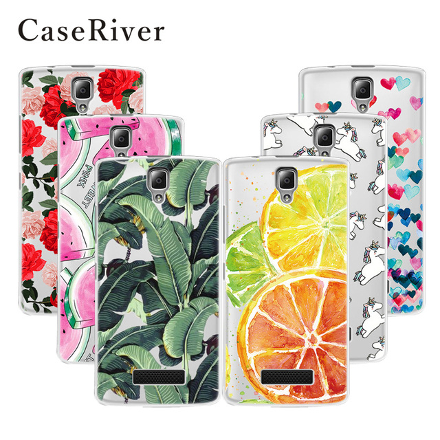 CaseRiver Soft Silicone TPU Lenovo A2010 Case Cover Patterns Printed Drawing Phone Back Protective Lenovo A2010-a / A 2010 Case