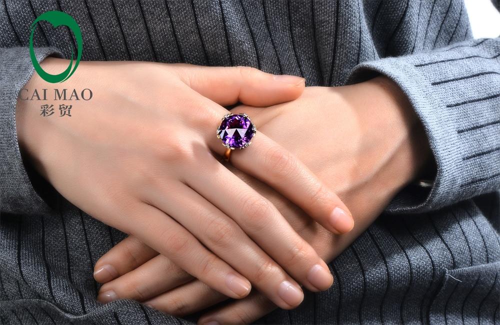 Жаңа ақысыз жеткізілім 9.02ct 15мм - Жұқа әшекейлер - фото 6