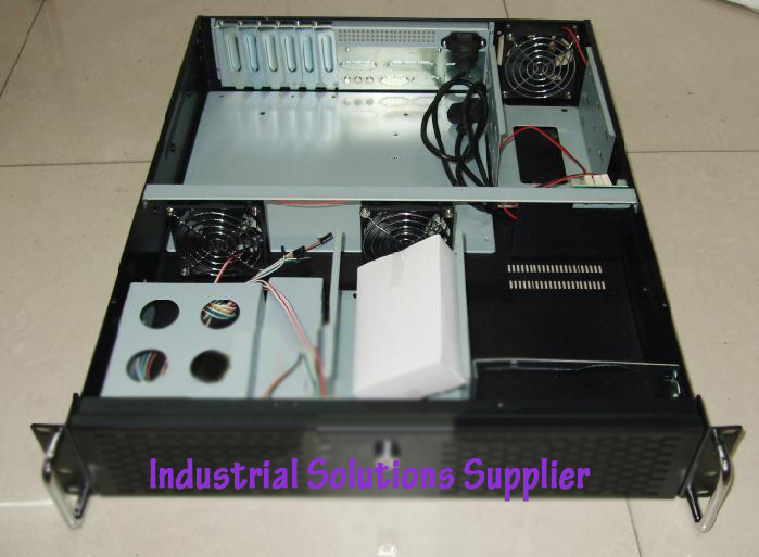 2u industrial computer case 2u computer case 1.2mm pc large-panel big power supply 2u server computer case