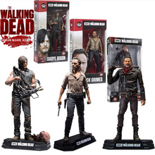 Action AMC The Walking Dead Figure 15CM PVC Model Collectable Toys Daryl Rick Negan Walking Dead Action Figure Toy Children Gift