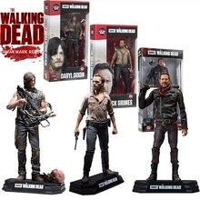 Eylem AMC Walking Dead Şekil 15 CM PVC Modeli Koleksiyon Oyuncaklar Daryl Rick Negan Yürüyüş Ölü Aksiyon Figürü Oyuncak çocuk Hediye
