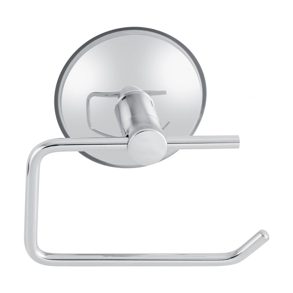 Fdit Toilet Suction Cup Paper Roll Holder Bar Stainless