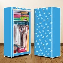Armário actionclub, simples, pequeno, dobrável, armário de roupas, armazenamento, estudantes, dormitório, armário econômico, pano não tecido