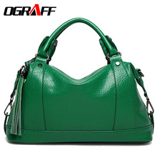 OGRAFF Luxury Handbags Women Bags Designer Famous Brands PU Leather Bag Female Crossbody Messenger Shoulder Bag