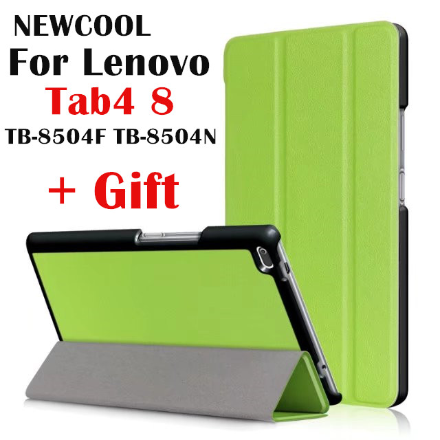 low priced f8624 c6cf0 US $8.66 24% OFF|Case For Lenovo Tab 4 8, TB 8504x Leather case smart Cover  for Lenovo TAB4 8 TB 8504F TB 8504 TB 8504N tablet Flip Case Cover -in ...