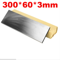 300x60x3mm W4212 Other stainless steel High speed Steel HSS plate Knife DIY material hardness 60 HRC ,cutting tools producer