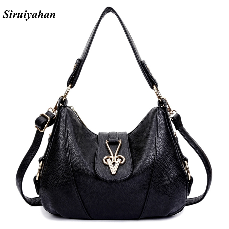 Siruiyahan Genuine Leather Bag Female Luxury Handbags Women Bags Designer Shoulder Bags Women Bag Female Sac S Main siruiyahan luxury handbags women bags designer genuine leather bag female shoulder bags women handbag bolsa feminina