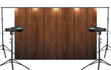 5x7ft Bright Wooden Floor Photography background Photo Video Studio Backdrop Props