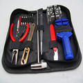 16pcs a Set Watch Repair Tool Kits Set Zip Case Holder Opener Remover Wrench Screwdrivers Watchmaker Watch Accessories