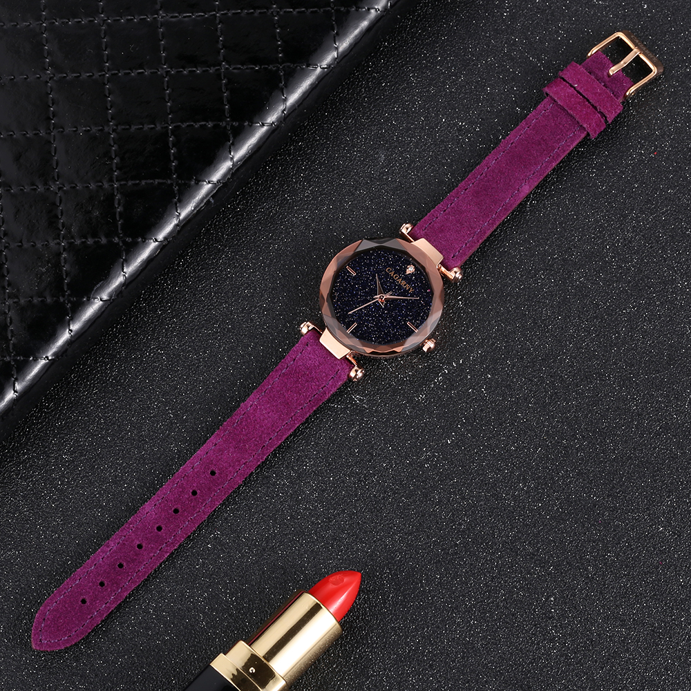 cagarny 2018 Leather Women Watches Ladies Luxury Brand Famous Wrist Watch Fashion Dress Female Clock Relogio Feminino Montre Femme drop shipping (5)