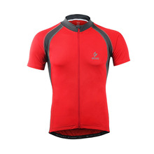 ARSUXEO Cycling Jersey For Riding Sports Bike Jersey Men Cycling Clothing Windbreak Short Sleeve Bicycle Clothing Cycling Jersey cycling clothing limited men sleeve bicicletas riding suit long 2017 new summer sleeved male bicycle for jersey