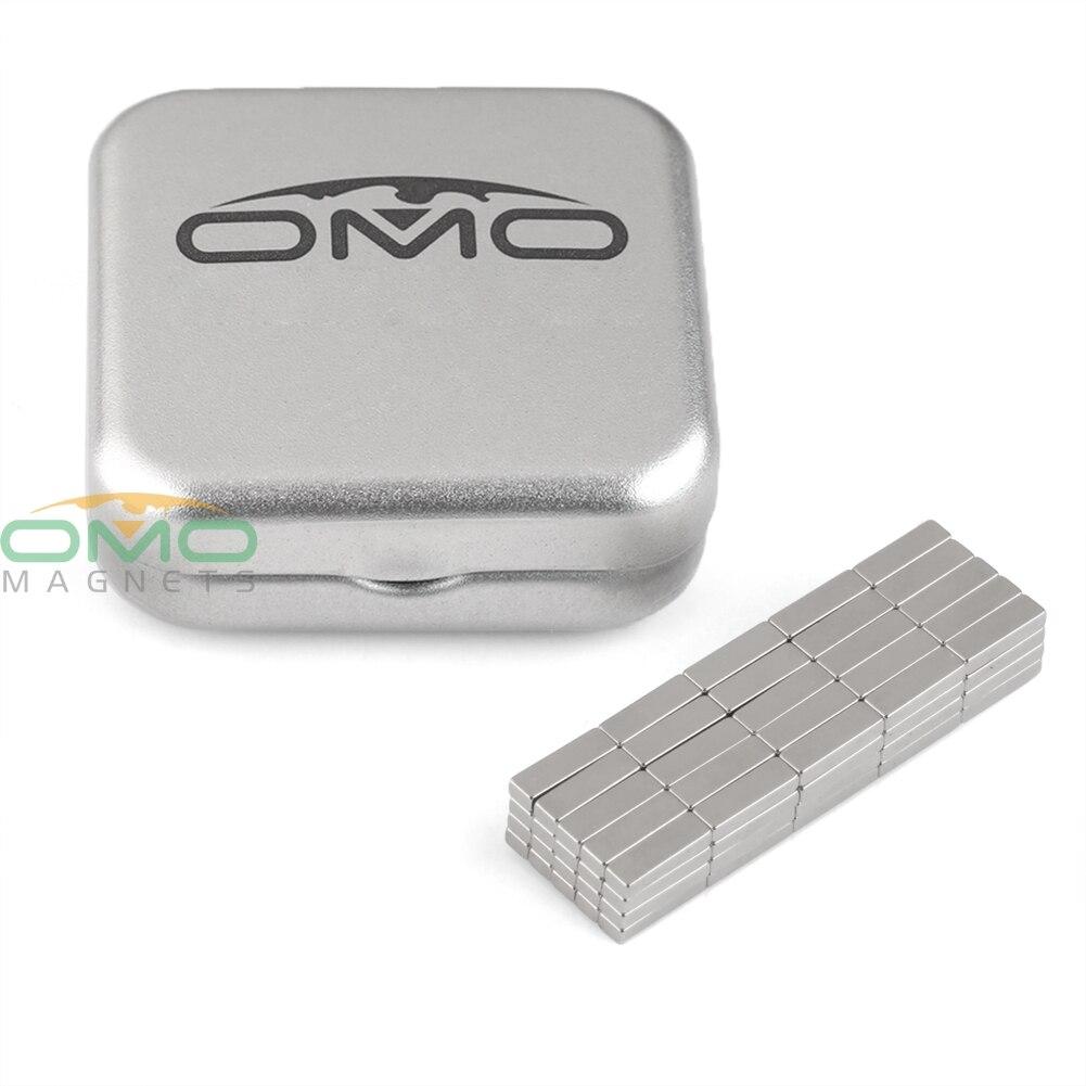 Super Strong Power Cuboid Square Block Magnet Rare Earth Neodymium 28 x 12 x 4mm