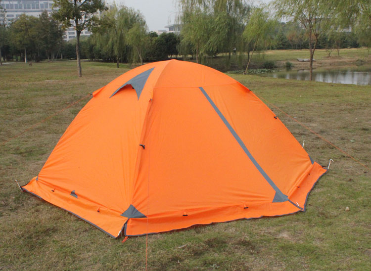 Flytop Tent with Rear Door Closed