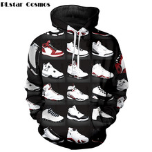 871fd8e17ab9 PLstar Cosmos 2018 New Fashion Hoodies Men Women Sweatshirts Jordan 23  Classic Shoes 3D Print Unisex Streetwear Tracksuits