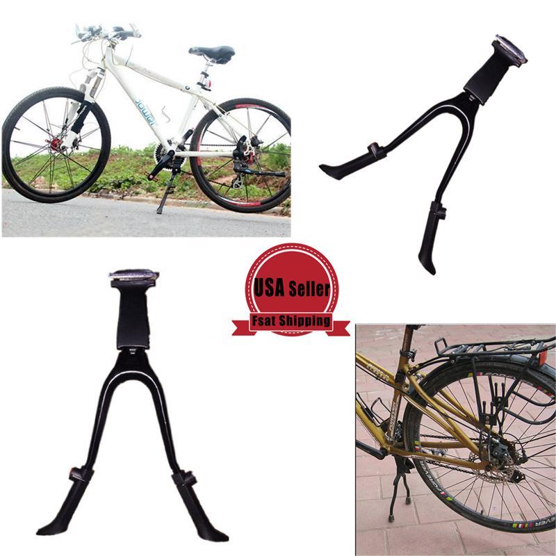 Greenfield Bicycle Alloy Kickstand 285mm KS-2 Bolt On Bike Frame Mount Black