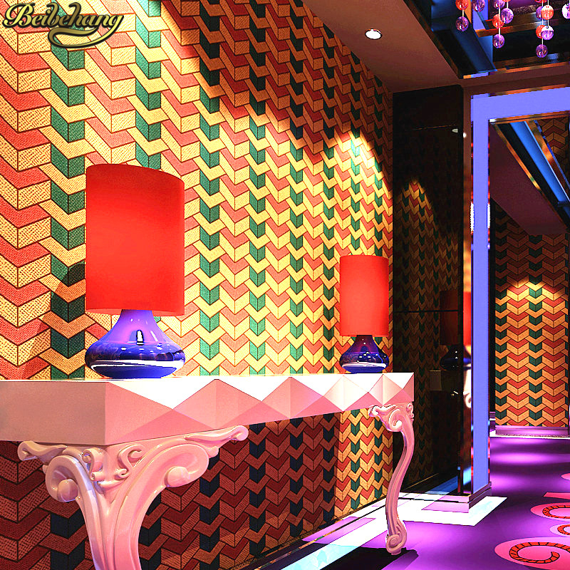 beibehang KTV wall paper 3d flooring stereo personality fashion pillar bar fancy ballroom gold foil wallpaper for living room яйцеварка profi cook pc ek 1139