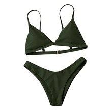Hot sale bikinis Women Push-Up Padded Bra Beach Bikini MT