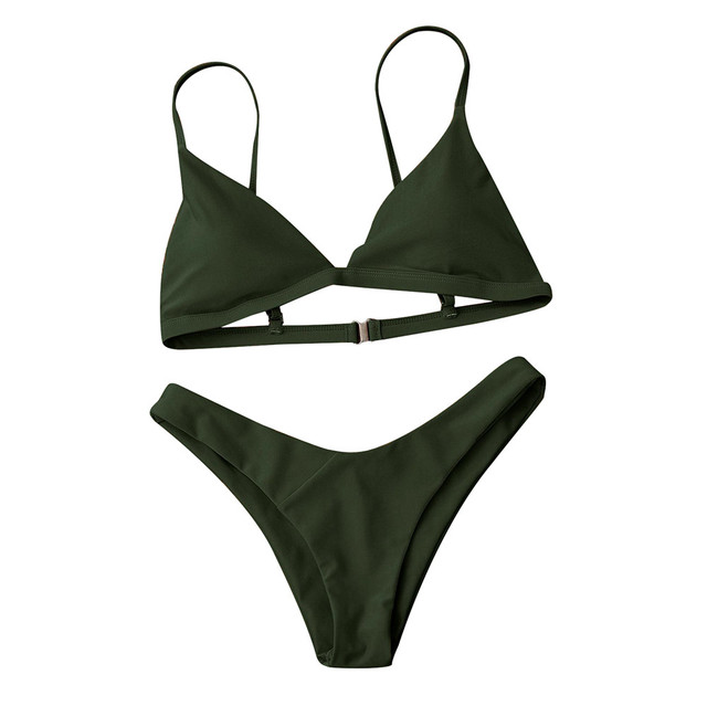 Hot sale bikinis Women Push-Up Padded Bra Beach Bikini Set Swimsuit Swimwear women Bikini 2019 biquini woman swimsuit wholesale