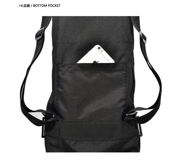 MACKAR Electric Skateboard Bag Black 900D Oxford Carry Bag Pack ... d3b3f390416