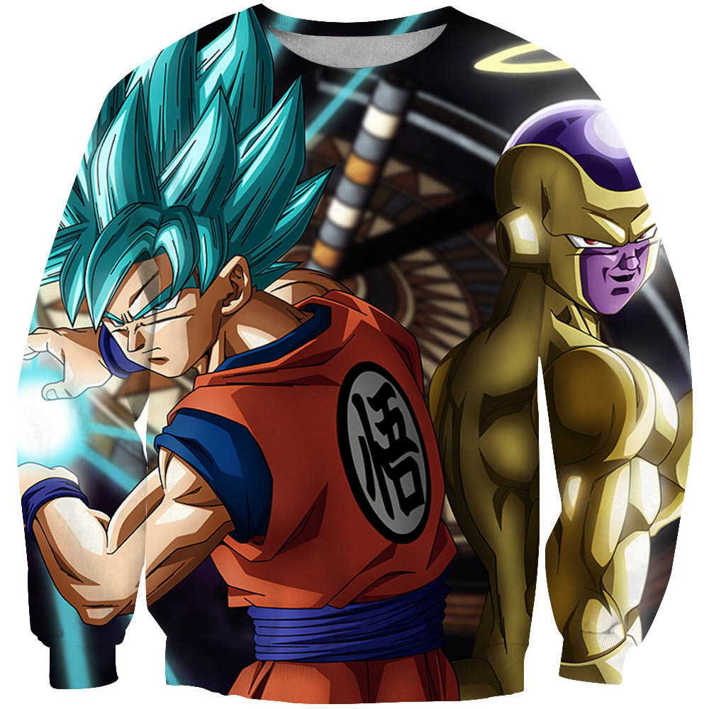 Anime Dragon Ball Z Sweatshirts Funny Men/Women 3d Hoodies Print Long sleeved Pullover casual streetwear XXXTENTCAION tracksuit
