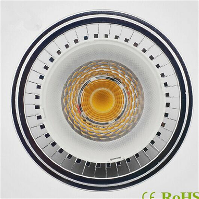 dimmable 110v 15w led downlights warm white lamp recessed lighting