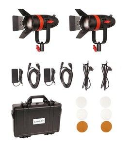 Image 5 - 2 Pcs CAME TV Boltzen 55w Fresnel Fokussierbare LED Tageslicht Kit F 55W 2KIT Led video licht