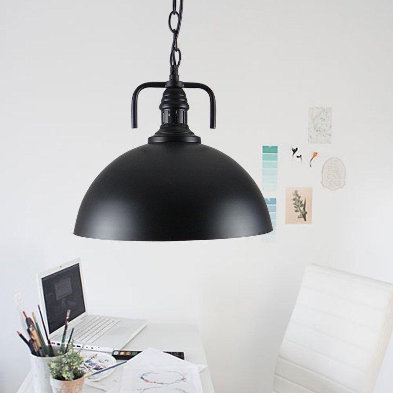 antique vintage pendant lights industrial pendant lamp Dome Hanging Lamp luminaria Kitchen Fixtures bar cafe lights