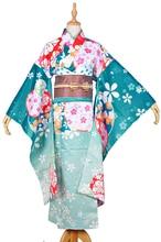 love live HOSHIZORA RIN cosplay costume new year Halloween anime Japanese Kimono dress cloth free shipping