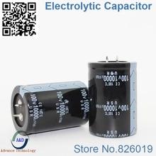 1pcs/lot 100V 10000UF Radial DIP Aluminum Electrolytic Capacitors size 35*50 10000UF 100V