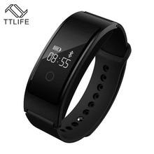 TTLIFE бренд Водонепроницаемый Шагомер напоминание Smart Band Bluetooth Смарт-браслеты сна монитор сердечного ритма Смарт-браслет