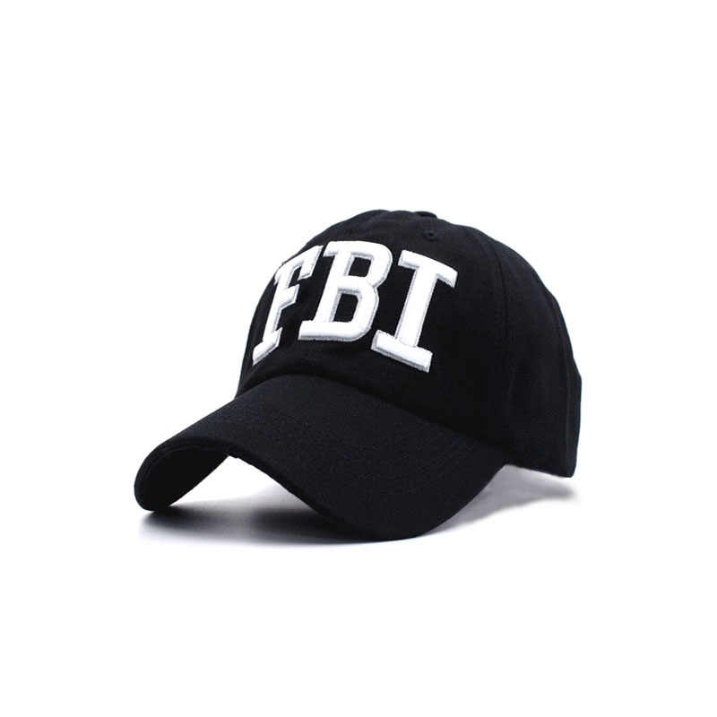 2018 High quality Wholesale Retail Men and women Hat   Cap FBI Fashion  Leisure embroidery CAPS dfb0e798e8dc