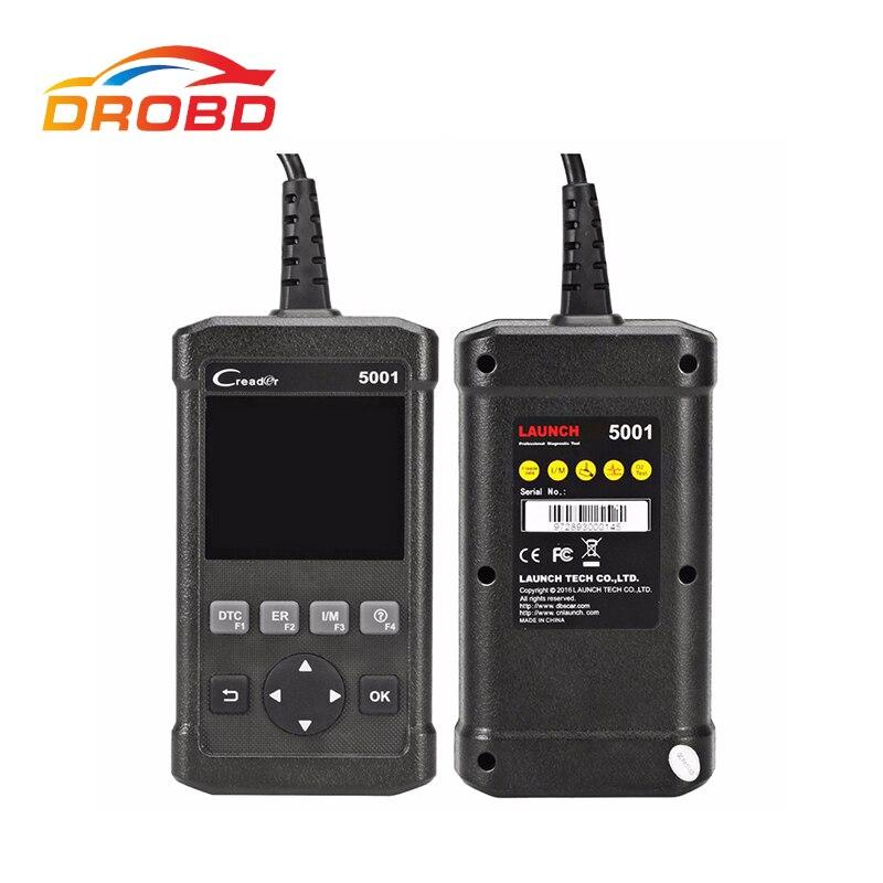 Цена за Последним Старт Creader 5001 CR5001 Code Reader Полный OBDII/EOBD Диагностический Инструмент Функции Сканирования ту же функцию, Autel AL519