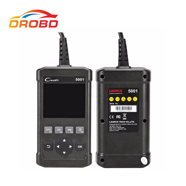 Big Promo Newest Launch CReader 5001 CR5001 Code Reader Full OBDII/EOBD Diagnostic-Tool Functions Scan the same function as Autel AL519