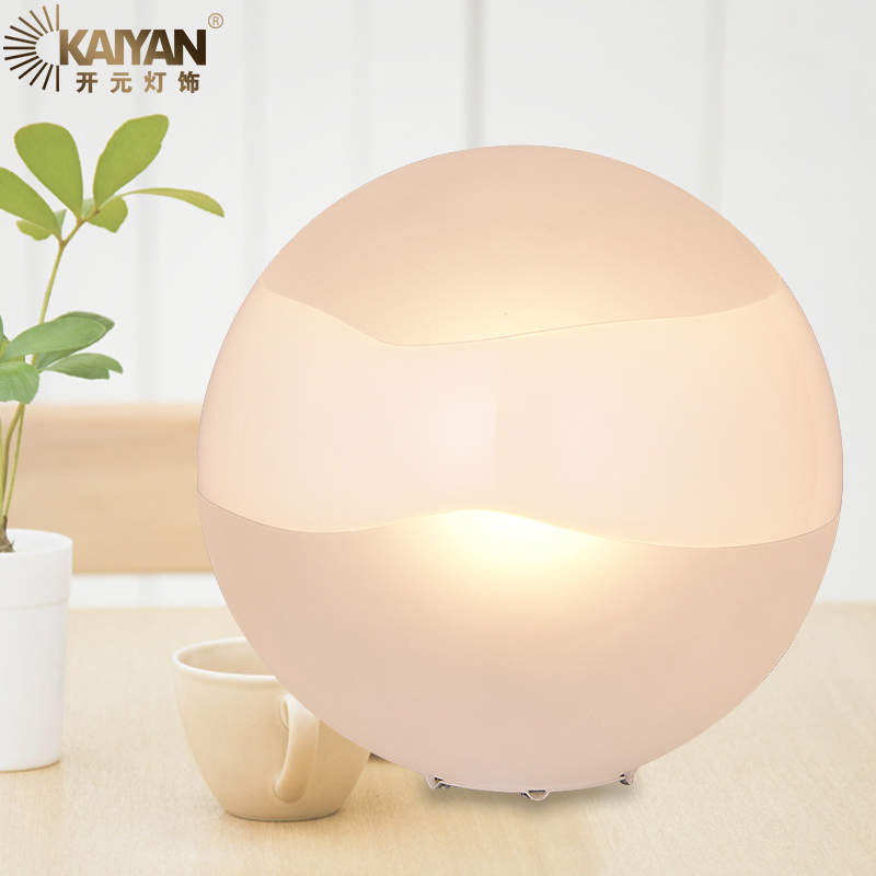 <font><b>Italian</b></font> Handmade Glass Table Lamp Modern Cute Ball Desk Lamp <font><b>Home</b></font> <font><b>Decoration</b></font> Night Light Study Foyer Bedroom Living Room