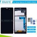 Для Sony Z3 дисплей Сенсорный ЖК-Экран Планшета для Sony Xperia Z3 D6603 D6653 D6633 Ассамблеи Карие (одиночная Карта) + инструменты