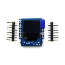 OLED Shield V2.0.0 for D1 mini IIC I2C 0.66
