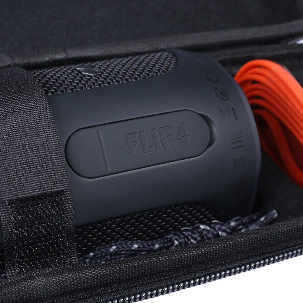 Fashion Trave Carry Waterproof Carry Travel Zipper Portable Protective Hard Case Cover Bag Box for JBL Flip 4 Flip4 Speaker