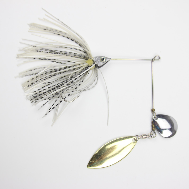 1pc spinner bait xxxxxxG metal lure hard fishing lures Spinner Lure Spinnerbait Pike swivel Fish tackle wobbler Submerged Fluff metal sheetmetal lures set 30x spinnerbait fishing hard lure pike salmon bass card 2 fish bait hook fishing tackle spinners
