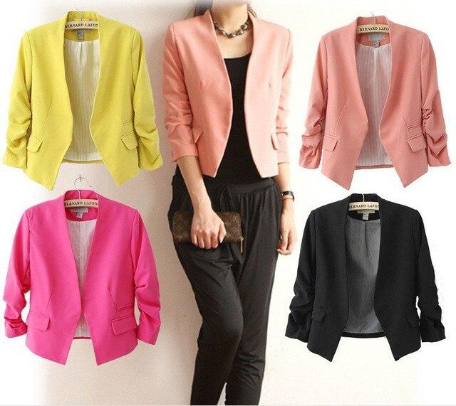 2018 New Fashion Women Blazer and jackets Spring Slim jacket Blazer women suit Jackets blazer feminino veste femme blazer