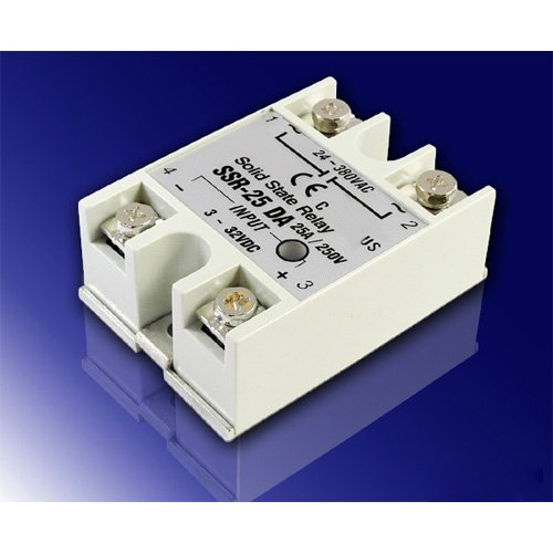 Promotion! 25A DC-AC SSR Solid State Relay 3V-32V DC input for oven, normally open single phase solid state relay ssr mgr 1 d48120 120a control dc ac 24 480v