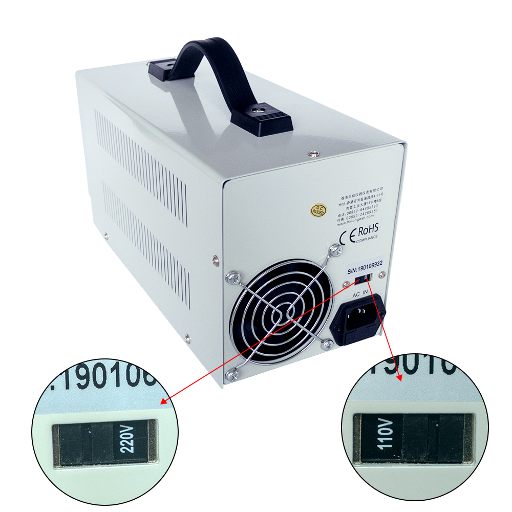Image 2 - New LW  PS 3010DF laboratory DC power supply 30V10A high precision4 digit LED display USB charging repair switching power supply-in Switching Power Supply from Home Improvement