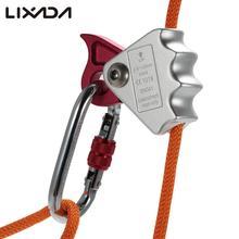 Lixada 15KN Arrampicata Allaperto Alpinismo Albero Intagliare Corda Afferrare Protecta Attrezzature Da Campeggio Per 9 millimetri 12 millimetri di Alluminio Corda lega di