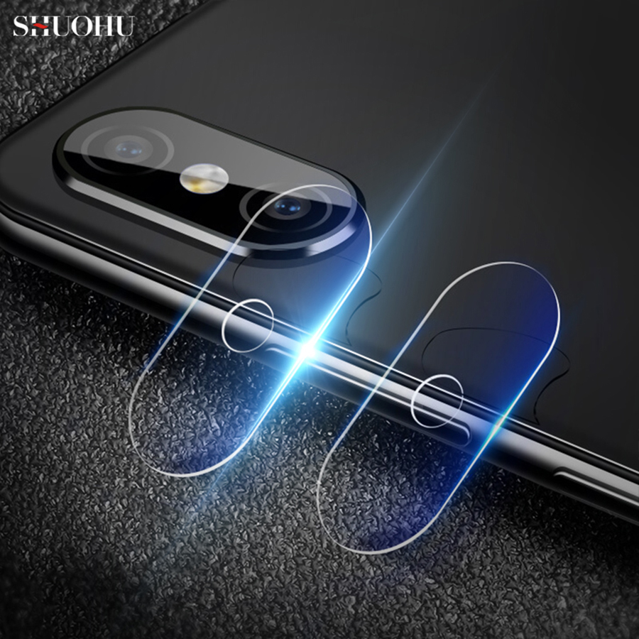 For mi 8 explore Back Camera Lens Flash Light Protector Film HD Clear Tempered Glass For Xiaomi 8 SE Ultra Thin Guard Ultra-thin