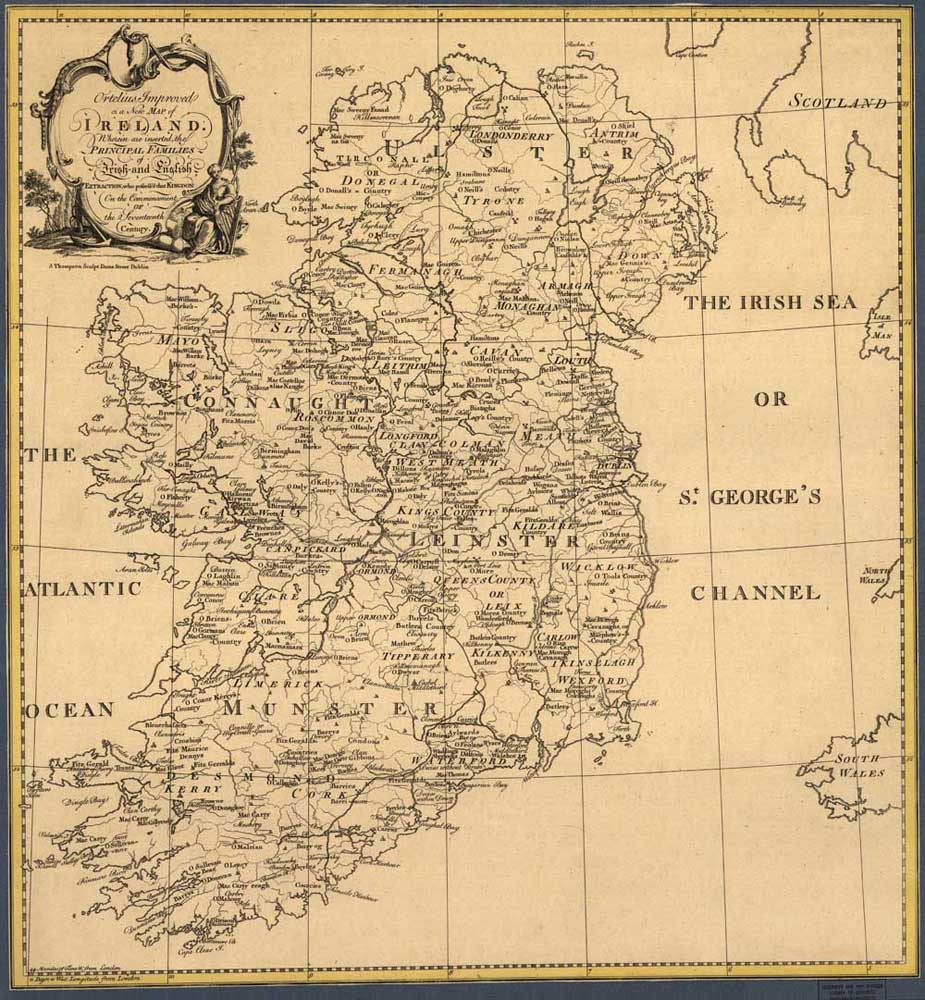 Map Of Ireland Print.Top Fashion Lk Mp 413 Vintage Oil Painting Print On Canvas Ireland