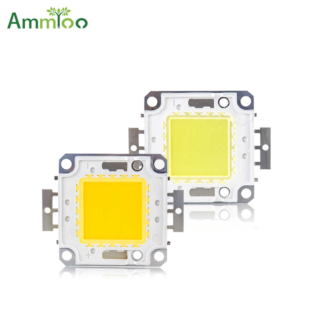 AmmToo COB LED Light Chip 10W 20W 30W 50W 100W Bulb Chips for Spotlight Floodlight Garden Square DC 12V 30V integrated LED Light