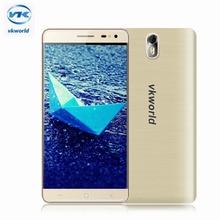 Vkworld G1 5.5 inch HD 4 г мобильного телефона Android 5.1 MTK6753 Octa core 3 г Оперативная память 16 г Встроенная память 13.0MP + 8.0MP Камера 5000 мАч смартфон