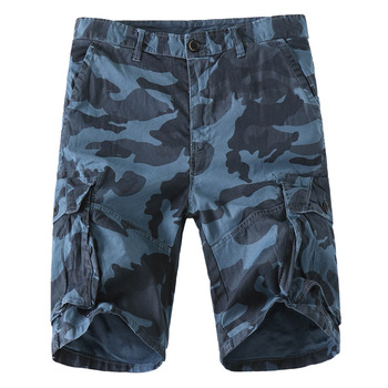 2020 New Summer Mens Shorts Camouflage Straight Tube Casual Clothing Men Loose Thin Goods Youth Popular Cotton