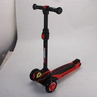 Kick Scooter 3 колесный складной скутер Дети Регулируемая Высота игрушки подарки для детей ножной скутер для 3 10 лет детская игрушка скутер