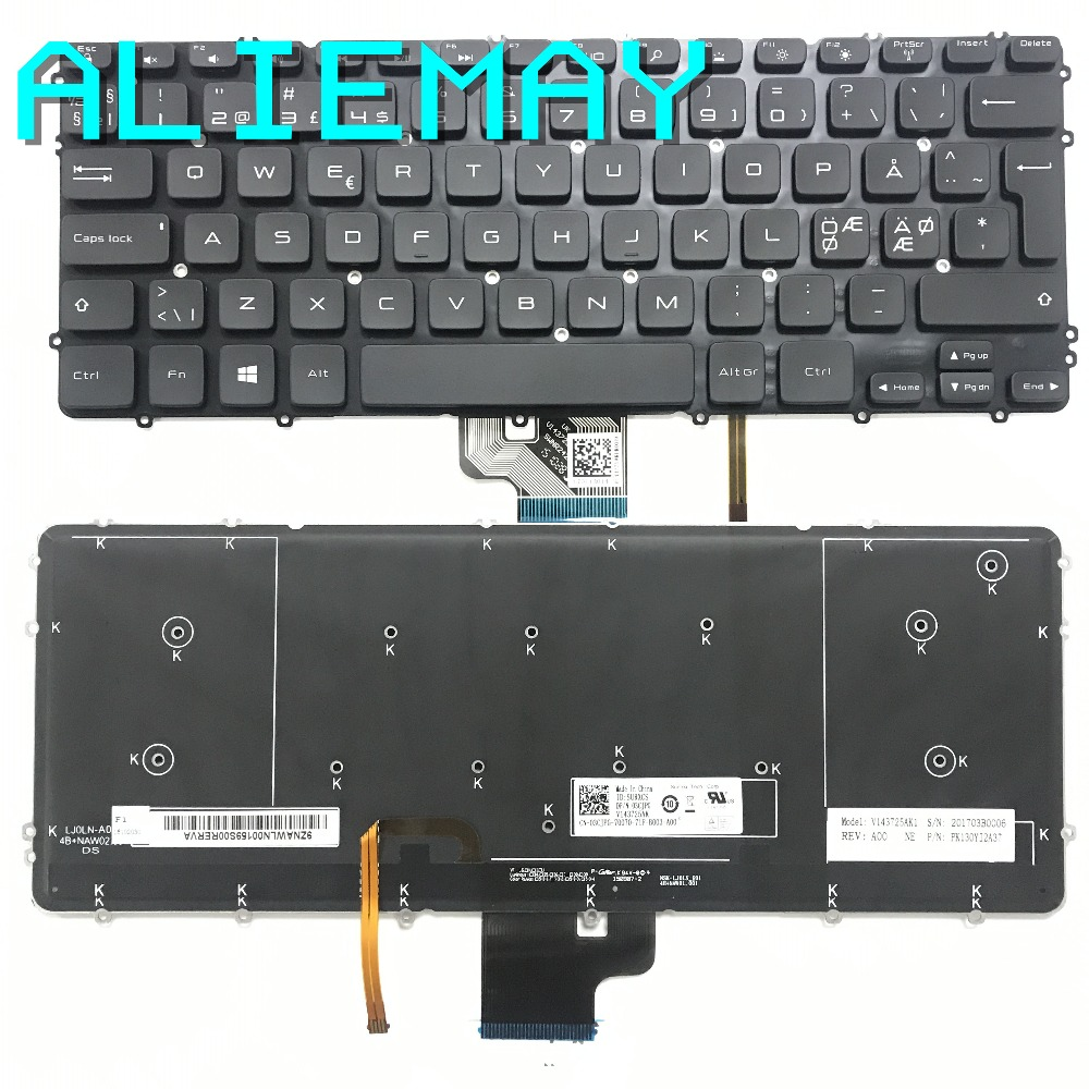 Brand new Original NE Denmark Backlight Keyboard for DELL XPS15-9530  PRECISION M3800  3800 with backlight  Keyboard  BLACKBrand new Original NE Denmark Backlight Keyboard for DELL XPS15-9530  PRECISION M3800  3800 with backlight  Keyboard  BLACK